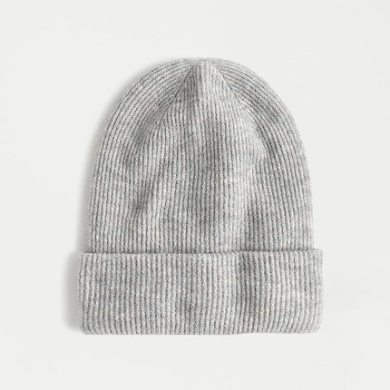 A Classic Ribbed Beanie