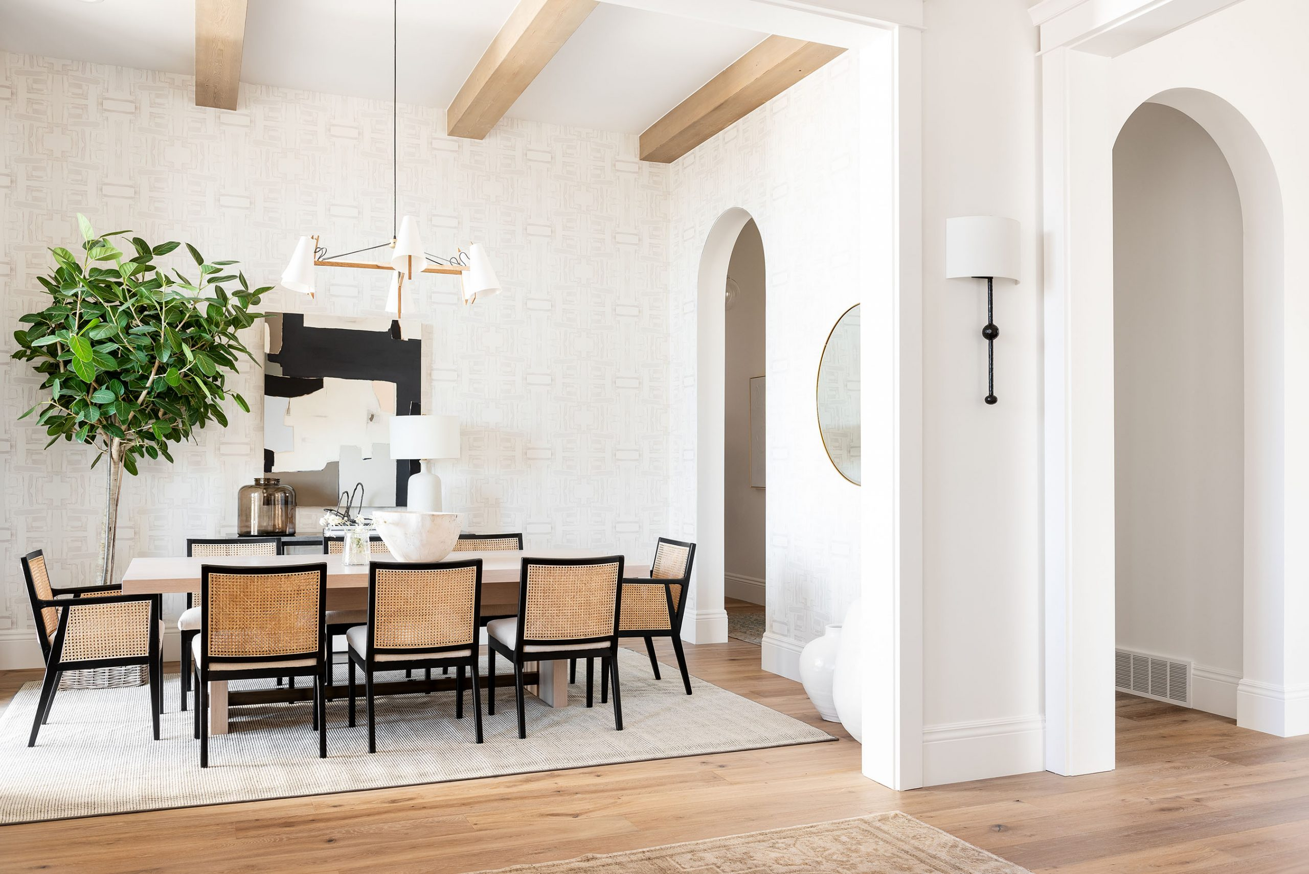 The Sunset House: Office & Dining Room