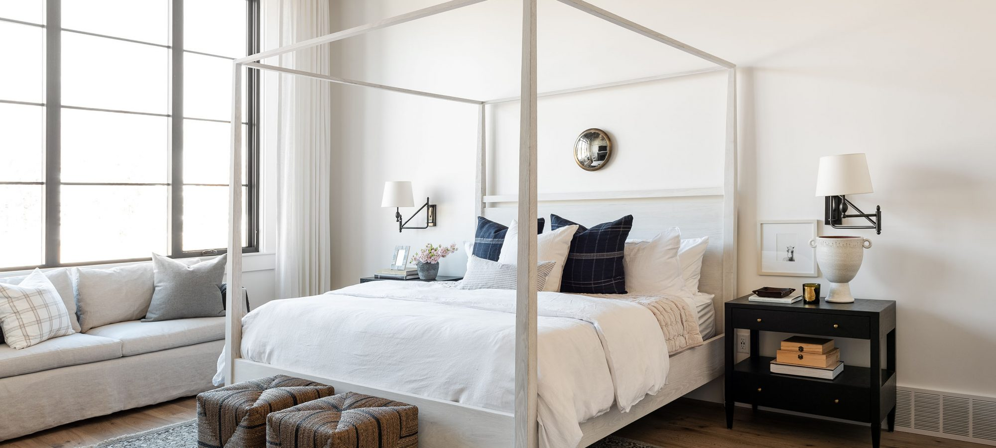 The Sunset House: The Bedrooms