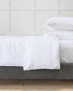 Hudson Linen Duvet Cover