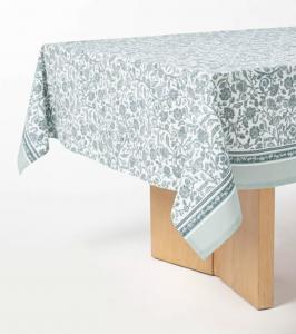 Cotton Floral Tablecloth