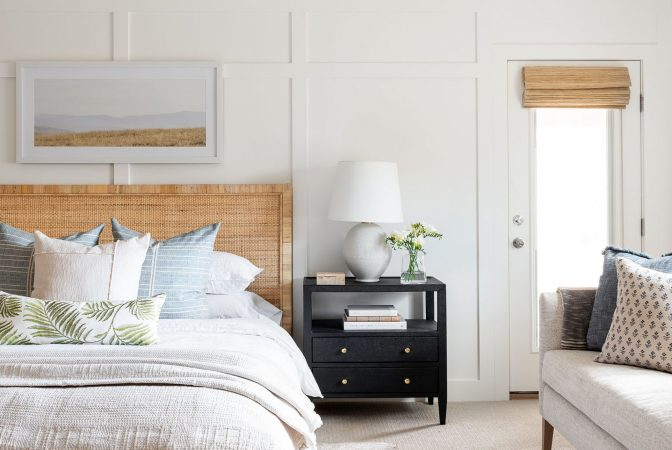 Layered Coastal Netflix Bedroom Remodel