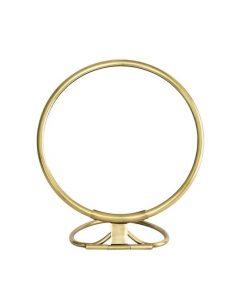 Coming Soon: Brass Vanity Mirror