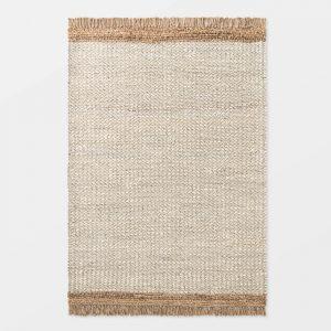 Honeyville Jute/Wool Natural Rug