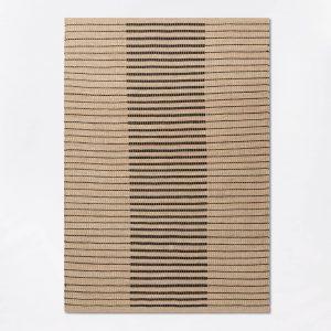 Reseda Hand Woven Striped Jute