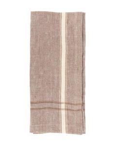 Linen Stripe Tea Towel