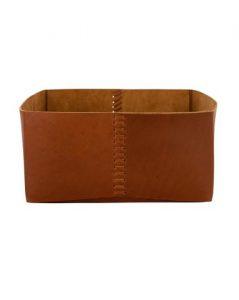 Genuine Leather Bin