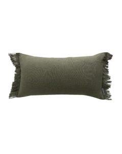 Hazelton Fringed Pillow Cover
