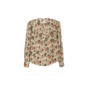Floral Chouette Top