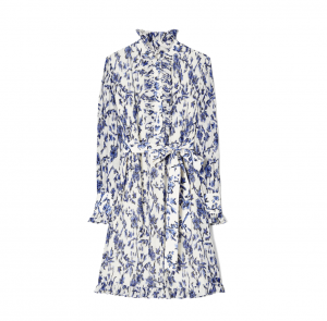 Deneuve Floral Print Shirtdress