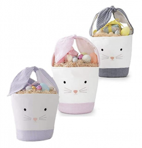 Gingham Bunny Tote