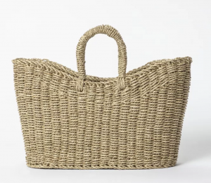 Braided Seagrass Tote