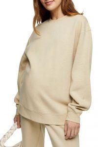 Maternity Oversize Sweatshirt