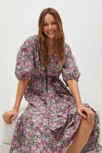 Flowers cotton dress