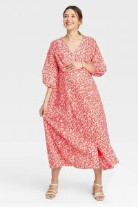 The Nines by HATCH™ Floral Print Dress