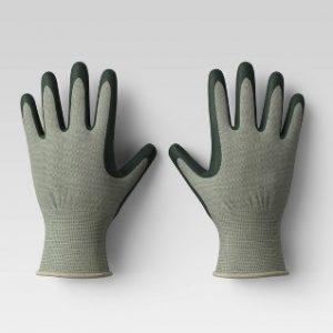 Bamboo Nitrile Gloves Green
