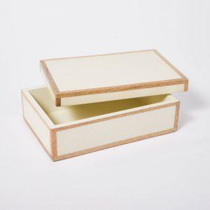 Decorative Wood Edge Trim Box
