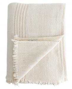 Natural Striped Blanket