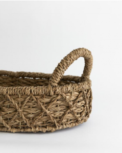 Woven Seagrass Table Tray