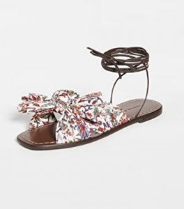 Peony Wrap Sandal