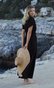 Somerset Maxi Dress in Black
