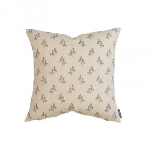 Gracie Block Print Pillow Cover