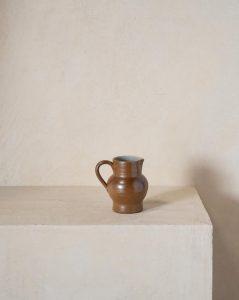 Vintage French Ceramic Pitcher