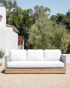 Berdine Wicker Outdoor Sofa