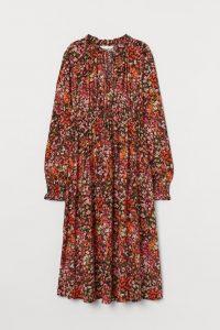 MAMA Ruffled Collar Dress