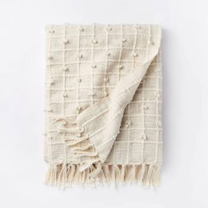Woven Cotton Textured Blanket