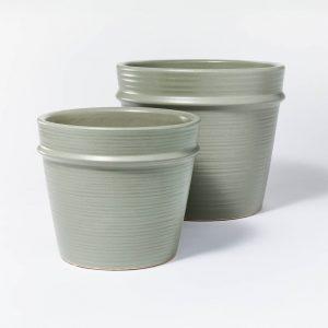 Earthenware Tabletop Planter