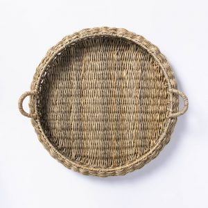 Large Round Manmade Outdoor Wicker