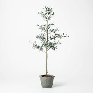 Artificial Sparse Olive Tree in Pot