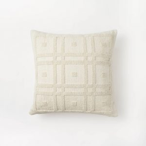 Geo Tufted Square Pillow