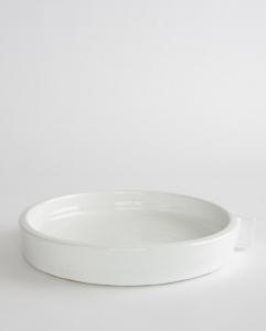 White Terracotta Tray