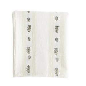 Greenery & Cream Tablecloth