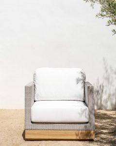 Berdine Wicker Outdoor Chair