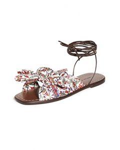 Peony Wrap Sandals