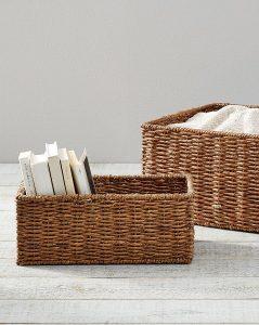 Samantha Handwoven Seagrass Baskets