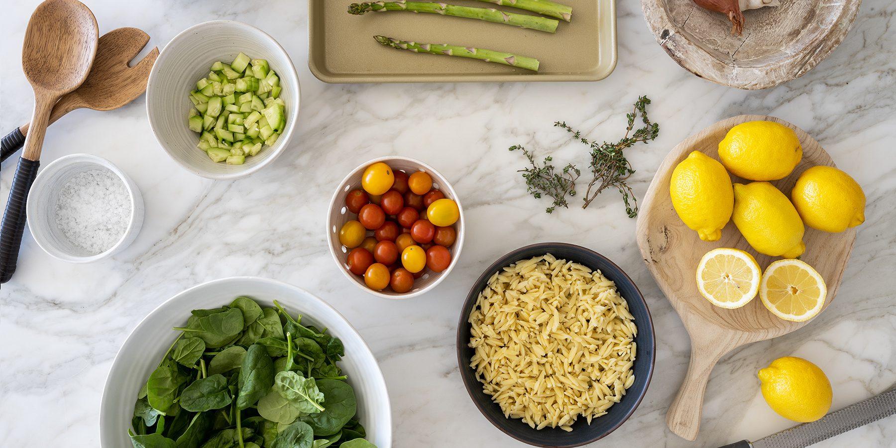 Shea's Favorite Orzo Pasta Salad Recipe