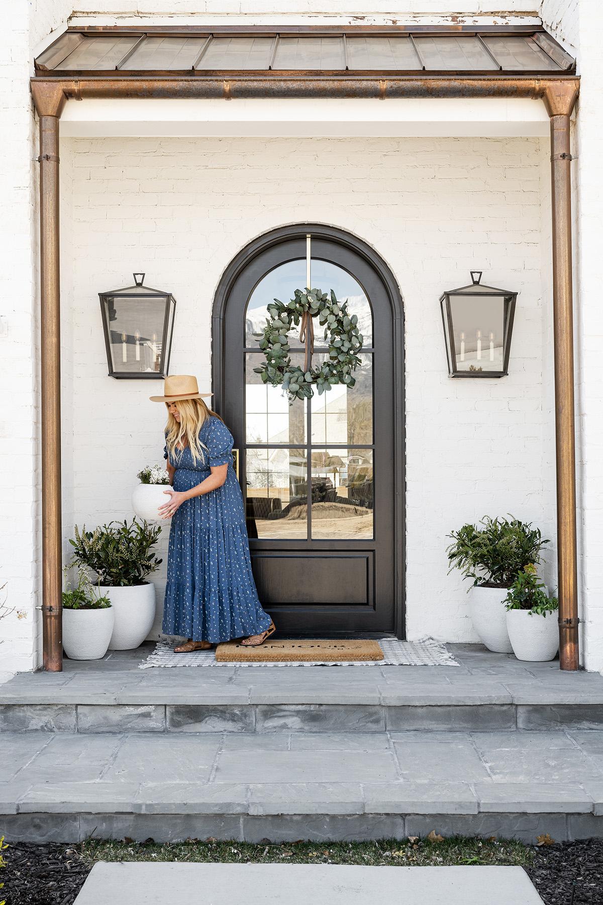 The McGee's Summer Front Door Look