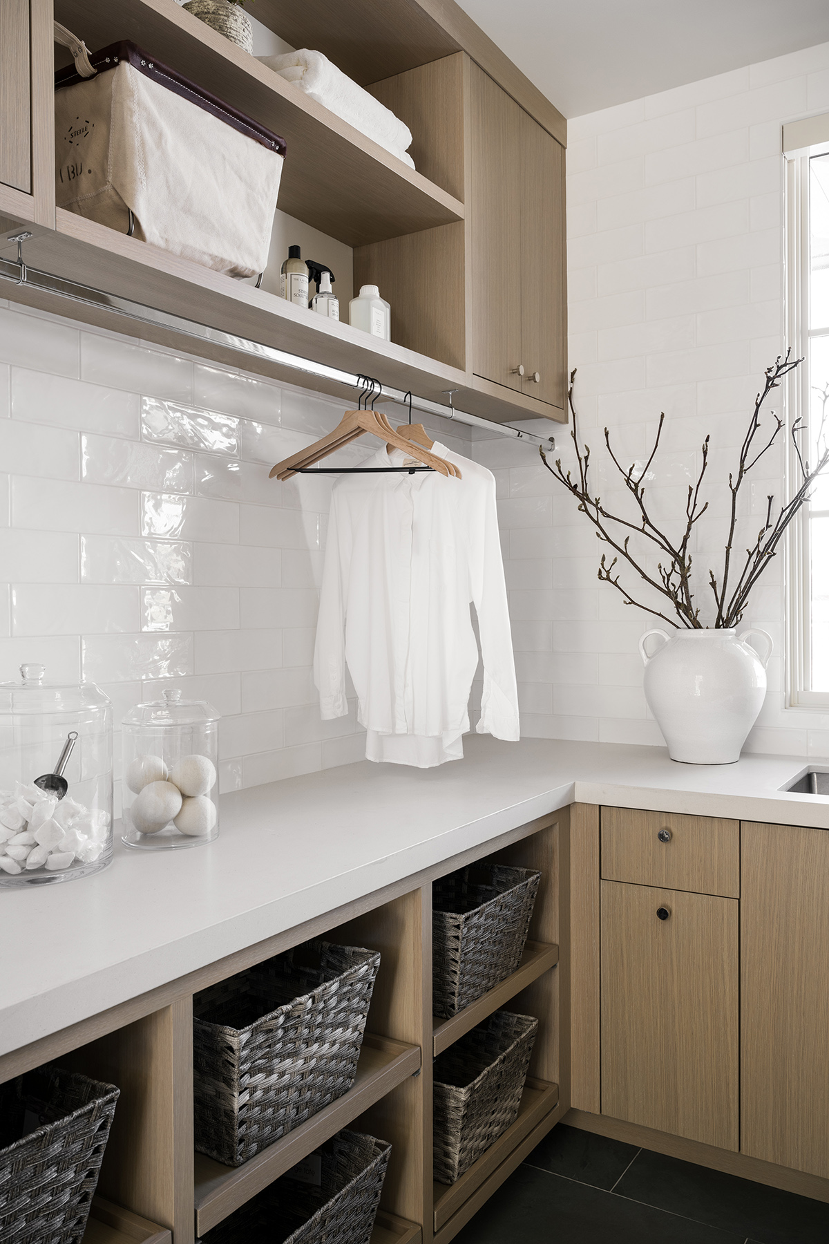 PC Contemporary Project: Office Mudroom & Laundry Room