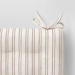 Striped Chair Pad