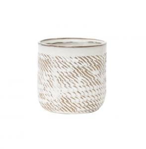 Stoneware Wheat Pot