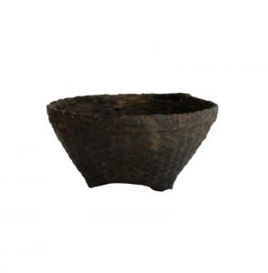 Found Weathered Cane Basket