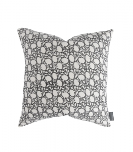 Clara Block Print Pillow Cover