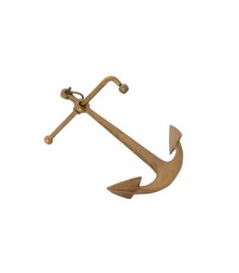 Brass Anchor Paperweight