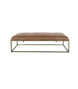 Harlow Leather Bench