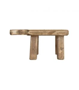 Distressed Wood Pedestal