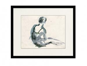 Ballerina in Blue 1